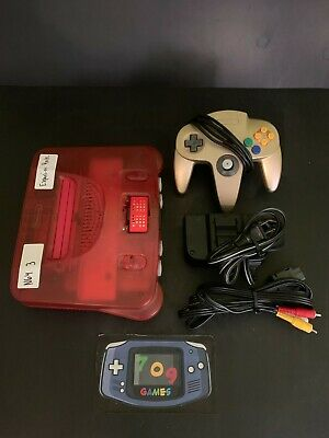 $ CDN296.99 • Buy N64 Nintendo 64  - Watermelon Red System Console W/ 1 Controller TESTED