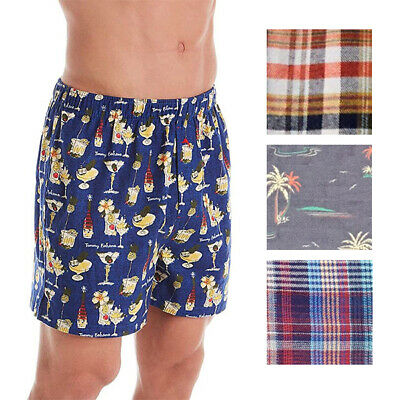 $24.99 • Buy Tommy Bahama Mens Printed Woven Flannel Boxers