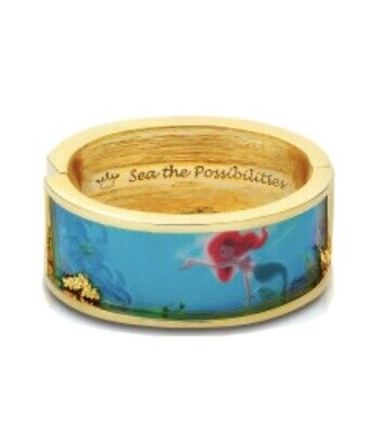£50 • Buy Disney Couture Kingdom Gold-Plated Little Mermaid Ariel Statement Bangle