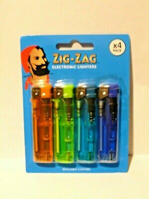 £2.80 • Buy 4 Pack Of Electronic Refillable Lighters