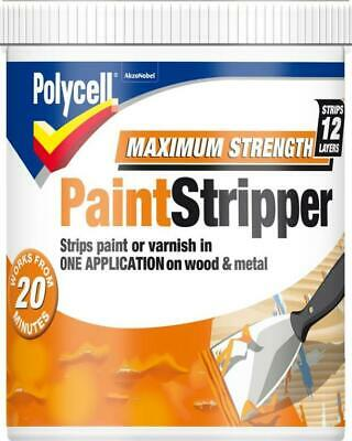£10.98 • Buy Polycell Wood Metal Paint Stripper Varnish Remover Maximum Strength
