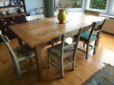 £450 • Buy Beautiful Table Made From Reclaimed Indonesian Teak Shutters.