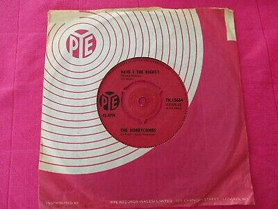£3 • Buy The Honeycombs  Have I The Right  UK 7  1964