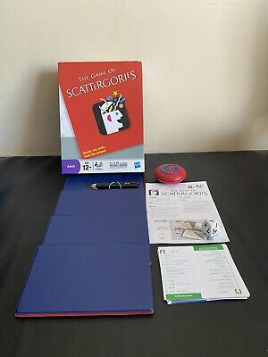 £14 • Buy The Game Of Scattergories 2011 Hasbro Gaming 100% Complete
