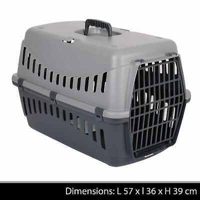 £14.85 • Buy Large Pet Carrier Carry Basket For Puppy Dog Cat Kitten Rabbit Travel Cage Crate