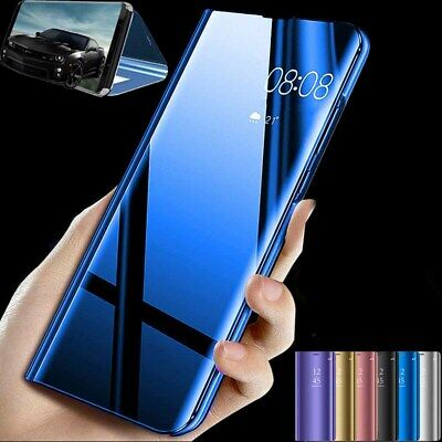 AU9.84 • Buy For Sony Xperia 10 Ii 5 Ii 1 Ii Smart View Mirror Leather Stand Flip Case Cover