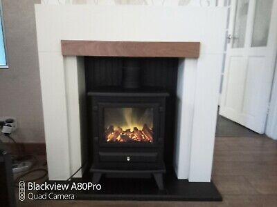£200 • Buy Fire Surround With Log Burner Effect Electric Fire