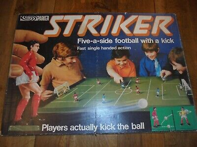 £47 • Buy Rare Vintage Parker 1970's Striker Football With A Kick Board Game