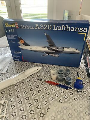 £15 • Buy Revell 04267 Airbus A320 - Lufthansa Model Kit, Scale 1:144