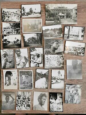 £10 • Buy African Tribe - Collection Of 25 X Vintage / Antique Photographs