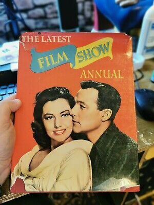 £4 • Buy THE LATEST FILM SHOW ANNUAL  1954 With Dust Jacket