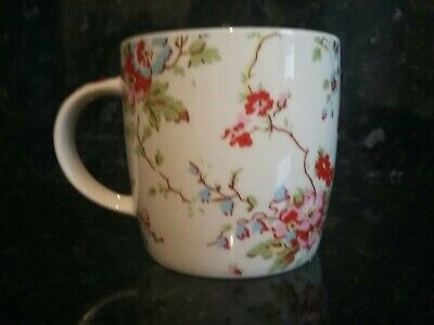£3 • Buy Cath Kidston- White Floral Rose Mug Exclusively By Queens Gifts