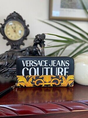 £59 • Buy Versace Jeans Couture Barocco-print Purse BNWT