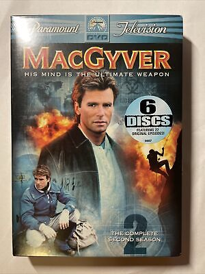 $14.99 • Buy New - MacGyver - The Complete Second Season (DVD, 2005, 6-Disc Set)