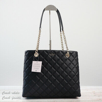 $ CDN249.61 • Buy NWT Kate Spade New York Natalia Quilted Smooth Leather Tote Shoulder Bag