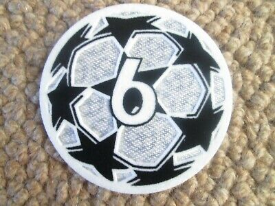 £5.99 • Buy 2021-2022 6 X Champions League Patch Player Size  Iron On Heat Press
