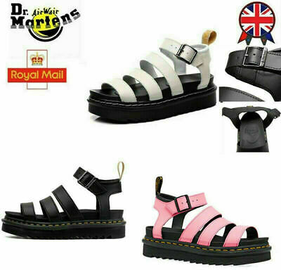 £25.85 • Buy 2021 Dr Martenss BLAIRE WOMEN'S HYDRO LEATHER GLADIATOR SANDALS Soft NAPPA!UK