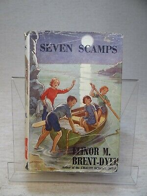£6.99 • Buy Seven Scamps By Elinor M. Brent-Dyer HB 1952 Reprint