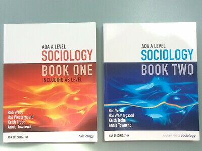 £20 • Buy AQA A Level Sociology Books ONE & TWO