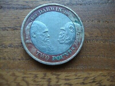 £3.75 • Buy Collectable £2 Pounds Coin- Charles Darwin- 1809-2009-Elizabeth 11- Man And Ape