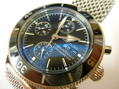 £3200 • Buy Gents Breitling Superocean Heritage II Watch - BOXED WITH PAPERS -