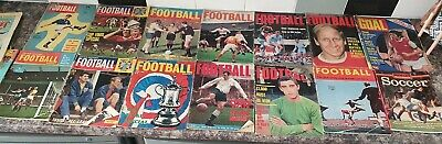 £30 • Buy Vintage Football Magazines - Charles Buchan's Football Monthly June 1966 & Other
