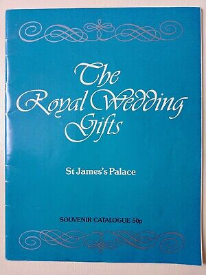 £4.25 • Buy The Royal Wedding Gifts: Souvenir Catalogue. Charles & Diana 1981.(48 Pages)