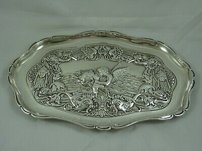£155 • Buy ATTRACTIVE EDWARDIAN Silver DRESSING TABLE TRAY, 1905, 298gm