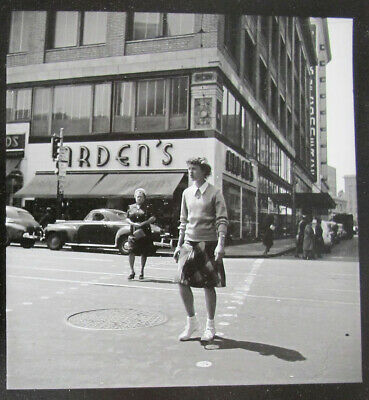 $ CDN1.20 • Buy Vintage DOROTHEA LANGE Attributed Contact Photograph 10 Views Of City Life Yqz