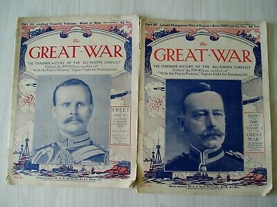 £4 • Buy The Great War - Edited By H W Wilson - 2 Copies