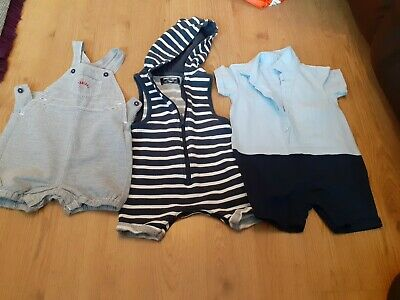 £0.99 • Buy Bundle Of Shorts Rompers  Outfit 6-9 Months Next Debenhams