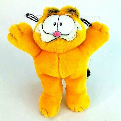 £11.67 • Buy Ty Beanie Garfield Cool Cat Soft Plush 10  Sitting Toy Collar & Name Tag 2004
