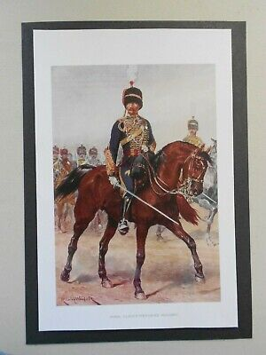 £1.65 • Buy  Military Print- The Royal Gloucestershire Hussars  By R Caton Woodville