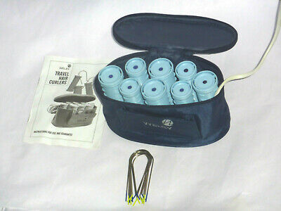 £36.50 • Buy Welby Travel  Compact Heated Hair Rollers Stylers     8 Rollers  8pins  ***vgc**
