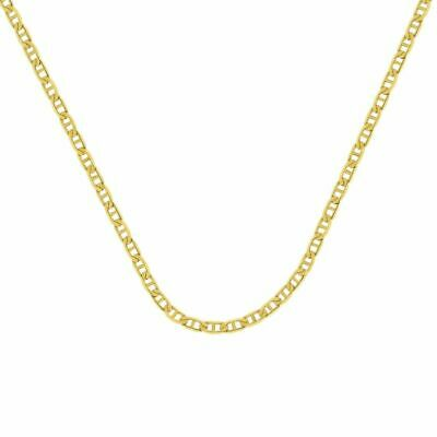 £92.03 • Buy 14K Solid Yellow Gold Chain Mariner Gucci Necklace 22