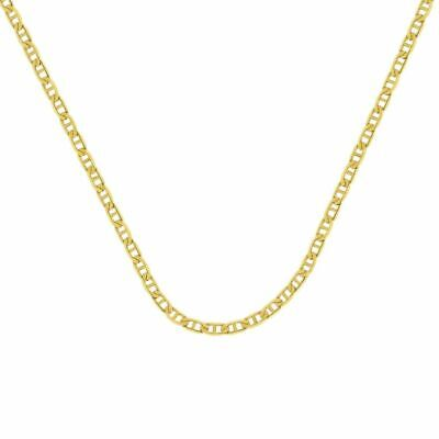 £99.11 • Buy 14K Solid Yellow Gold Chain Mariner Gucci Necklace 24