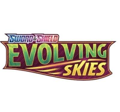 AU180 • Buy Pokemon TCG Evolving Skies Booster Box Pre Order. August Delivery.