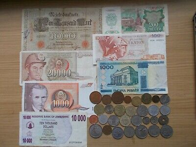 £0.99 • Buy Foreign Coins And Banknotes - One Very Old!