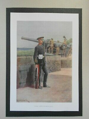£1.65 • Buy  Military Print- Royal Garrison Artillery By Caton Woodville