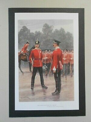 £1.65 • Buy  Military Print-  The Manchester Regiment By R Caton Woodville