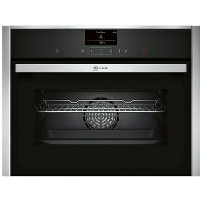 £297 • Buy Neff C27CS22H0B N90 Compact Pyrolytic Multifunction Single Oven – STAINLESS STEE