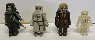 £2.99 • Buy Lord Of The Rings Minimates Figures - Gandalf, Frodo, Aragorn And King Theoden