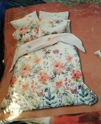 £18.11 • Buy *NEW* Duvet Cover Queen Size Floral *NEW*