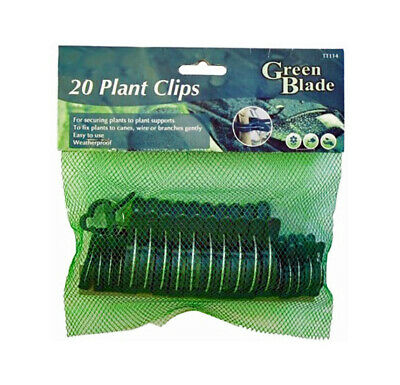£2.99 • Buy 20 X Plant Clips Seedlings Plants Support Tools Garden Fixture Support Clips