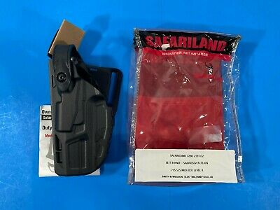 $71 • Buy Safariland 7280 7ts Sls Lvl Ii Mid Ride Duty Holster Smith & Wesson M&p 9/40 Lh