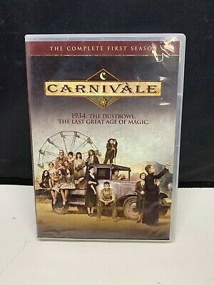 £4.24 • Buy Carnivale - The Complete First Season (DVD, 2004, 6-Disc Set)
