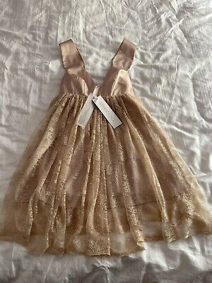 AU99 • Buy ALICE McCall Lace Dress/ Sexy With Tags 👗size 6/8🎁 Blush/ Nude Colour