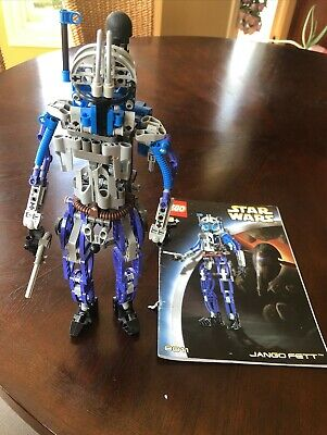 £14.87 • Buy LEGO Star Wars Jango Fett Complete With Instruction Booklet 8011