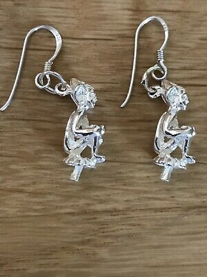 £12 • Buy New 925 Lucky Cornish Pixie Earrings (solid)