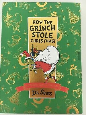 £8 • Buy How The Grinch Stole Christmas! 60th Anniversary Slipcase Edition By Dr. Seuss
